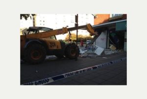 Ram-raid in Harlow | Davis Locksmiths