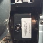 Diagnostic socket locked
