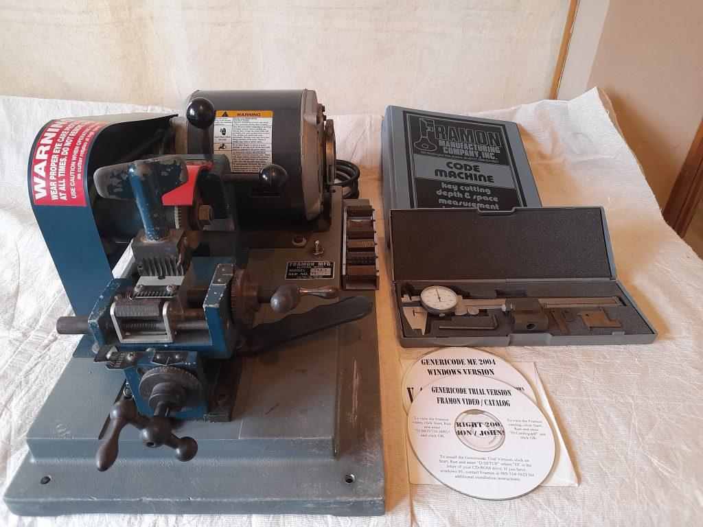 Framon #2 key machine for sale