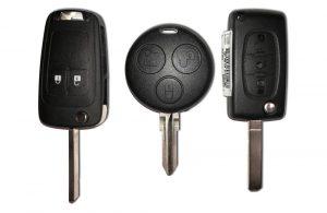 Car keys and fobs cut